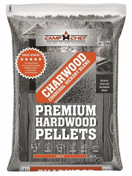 Charwood Charcoal Hickory Pellet Blend